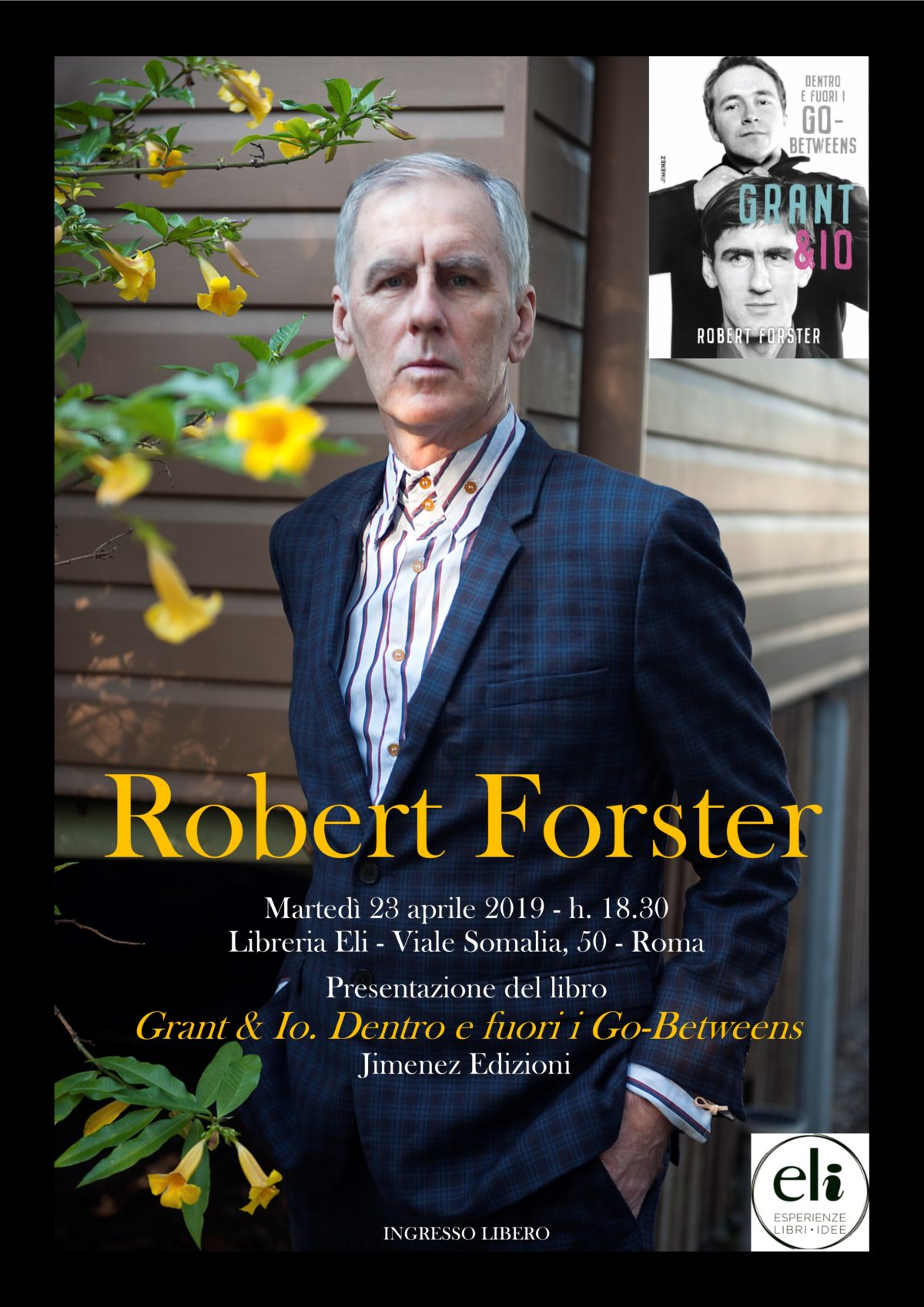 Robert Forster a Roma